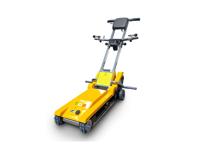 Jolly Standard: mobile stairclimber with tracks