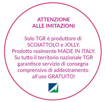 Solo TGR è produttore di SCOIATTOLO e JOLLY.