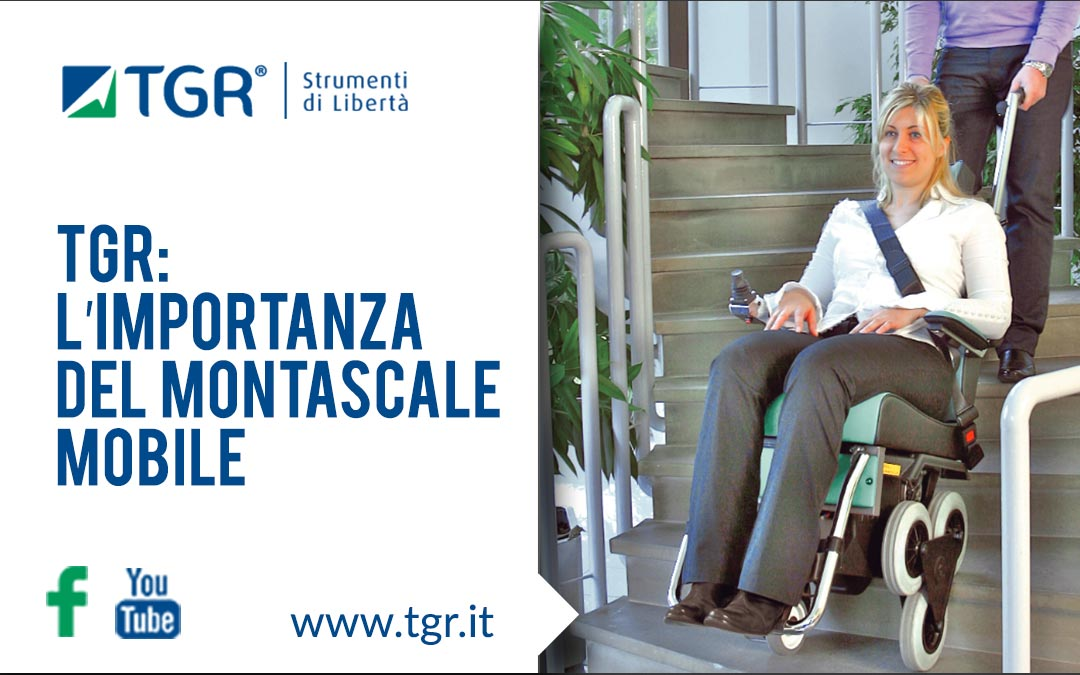 montascale mobile tgr
