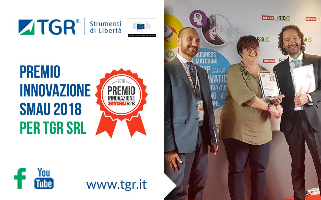 TGR ha ricevuto il Premio Innovazione SMAU 2018