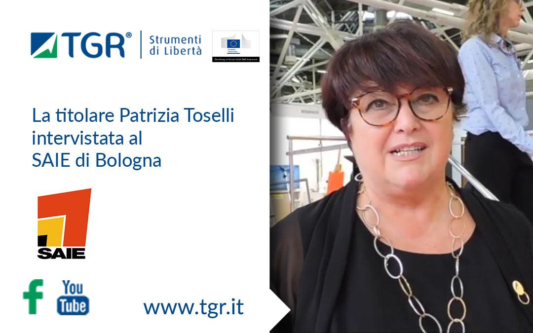 Patrizia Toselli intervista al SAIE