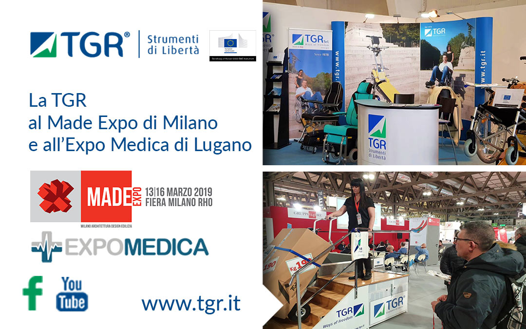 La TGR al Made Expo di Milano e all'Expo Medica di Lugano