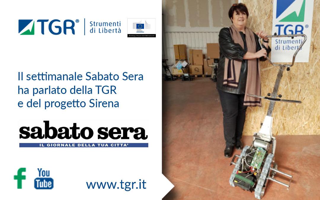 Il settimanale Sabato Sera ha parlato della TGR e del progetto Sirena