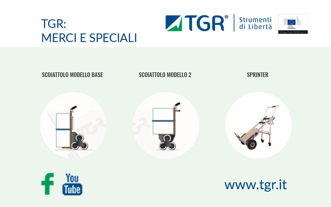 La TGR presenta i propri carrelli merci