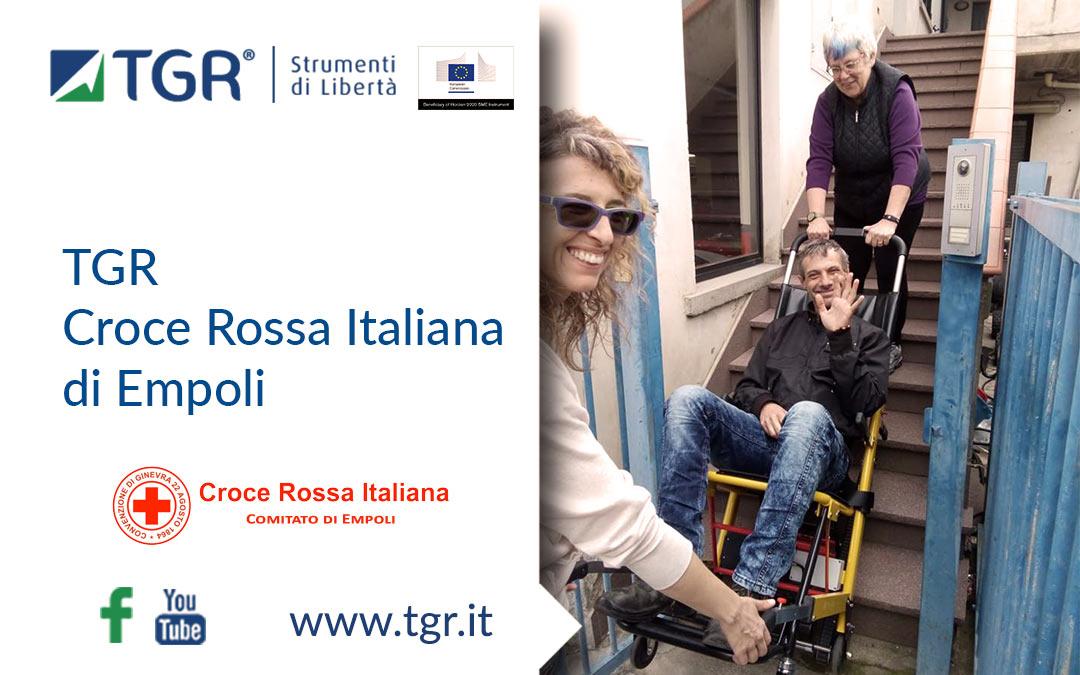 TGR per la Croce Rossa Italiana di Empoli