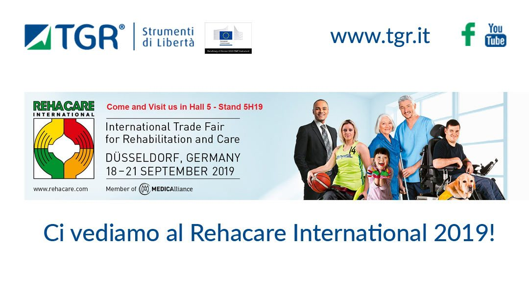 La TGR al Rehacare International di Düsseldorf